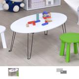 【空間生活】造型橢圓折疊桌.茶几桌.書桌