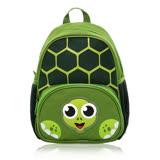 Tiger Family幼兒透氣減壓背包-綠色烏龜