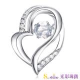 【光彩珠寶】10分 日本舞動鑽石項鍊 真愛約定