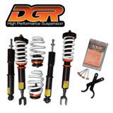 【DGR】高低軟硬可調式避震器 送專業安裝(適用於本田 喜美9代 12~15車型)