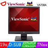 ViewSonic 優派 VA708a 17吋5:4液晶螢幕