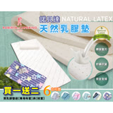 【I-JIA Bedding】(和風)諾貝達-天然乳膠床墊組(開學超殺)