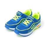 (中大童) SPEED 輕量運動鞋 藍 童鞋 鞋全家福