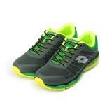 (男) LOTTO PHOENIX KPU II 氣墊跑鞋 綠 LT7AMR5015 男鞋 鞋全家福