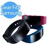 (福利品) Samsung Gear Fit2 SM-R360 智慧手環 (藍色/灰色)