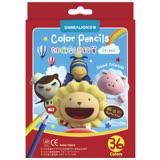 【雄獅 SIMBALION 色鉛筆】奶油獅CP-36A 36色色鉛筆(紙盒)