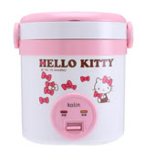 【Kolin歌林 x Hello Kitty】聯名款 隨行電子鍋(一人份)KNJ-MNR1230