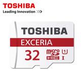 TOSHIBA EXCERIA Micro-SDHC 90MB/s 32GB UHS-1 記憶卡