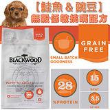 BLACKWOOD 柏萊富《全犬│鮭魚&豌豆》無穀低敏挑嘴1LB/450g