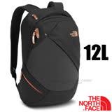 【美國 The North Face】新款 ELECTRA 超輕時尚避震透氣多功能後背包12L(電腦書包 可容15吋筆電)學生書包.出國旅遊 2RDA 黑 N