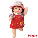 日本POPO-CHAN娃娃-草莓吊帶裙波波醬