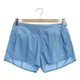 NIKE 女 慢跑短褲 AS W NKFLX SHORT 3IN RIVAL藍-719583465