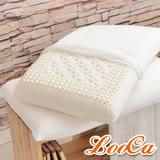 LooCa透氣微按摩HT特大乳膠枕(2入)