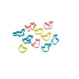 《UNOPAN》日本進口Cakeland 動物造型餅乾模(10入)/點心模具/餅乾模具/NO.752