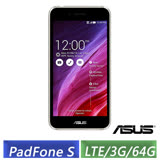 (全新逾期品) ASUS PF500KL PadFone S 5吋 (3G/64G/LTE版) 四核智慧手機(黑)-【送華碩PW200無線充電器】