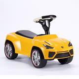 藍寶堅尼Lamborghini 兒童嚕嚕車-黃