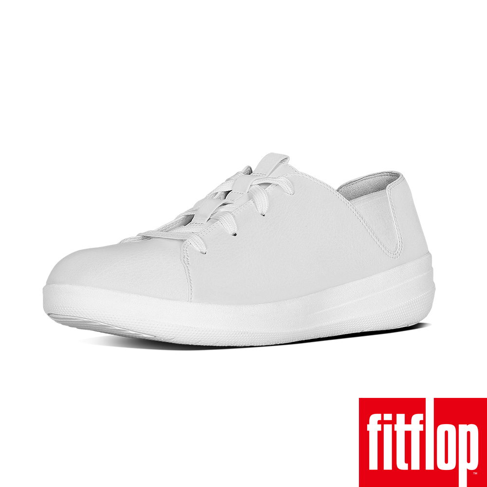 FitFlop TM-F-SPORTY LACE-UP SNEAKER 白