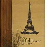 【Design W 創意壁貼】時尚家飾 Euro Trip - Eiffel Tower