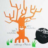 【Design W 創意壁貼】時尚家飾 Memo Tree
