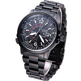 CITIZEN PROMASTER 系列 GMT 男用腕錶