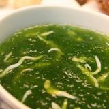 【花格海味】海菜魩仔魚湯