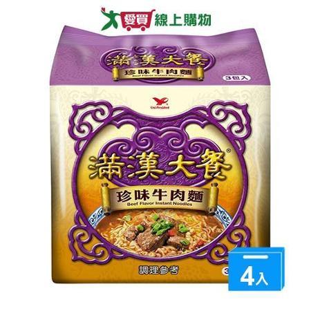 統一滿漢大餐珍味牛肉麵*12包(箱)