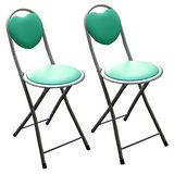 室內/室外高背折疊椅(四入)-綠色