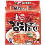 韓國不倒翁泡菜拉麵120g*5包