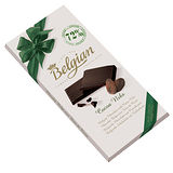 Belgian‧白儷人72%碎可可豆黑巧克力