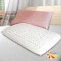 【凱蕾絲帝】純天然馬來西亞進口傳統麵包型-乳膠枕(1入)