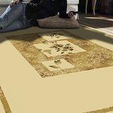 【范登伯格】比提人造絲毯系列-花賞(140X190)