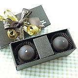 JOYCE巧克力工房【爆漿白蘭地松露巧克力禮盒-二入禮盒】
