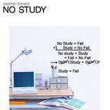 【ORIENTAL高品質進口壁貼】No study 家飾裝潢無痕系列