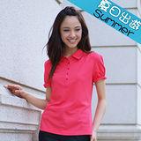 【瑞多仕-RATOPS】女款 布領POLO衫. 吸溼排汗纖維. 抗UV.透氣、抗菌、快乾#8351 A