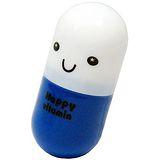 創意健康膠囊毛巾盒送小方巾2入超值組(AP-0788X2)