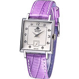 Rosemont 戀舊系列 魅力腕錶TN004-SW-BVI紫羅蘭色