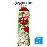 愛之味鮮採蕃茄汁-Oligo腸道保建540ml*4入