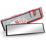 (購物車)YAC鍍鉻廣角曲面鏡300mm