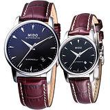 MIDO Baroncelli 典藏真愛 機械對錶(M86004188.M76004188)