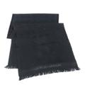 GIORGIO ARMANI 09 秋冬最新款 100% 羔羊毛 頂級觸感 雙G LOGO刺繡 圍巾