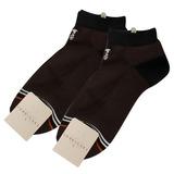 TRUSSARDI 休閒雙色毛巾底短襪【咖啡色2入】