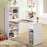 抽屜型4層置物櫃-電腦桌/書桌-(二色可選擇)