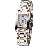 浪琴錶 LONGINES 多情經典系列女腕錶L51555717雙色款