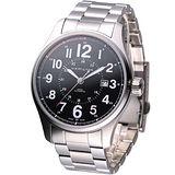 HAMILTON Khaki 飛行員 自動上鍊機械錶 (H70615133)黑
