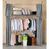 《C&B》衣世家一般型日式頂天立地伸縮衣櫥