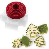 《CUISIPRO》聖誕樹餅乾壓模器(5入)