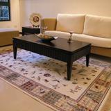 【范登伯格】芭比人造絲質地毯-羽飛(紅藍米三色可選)140x190cm