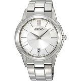 SEIKO 輝煌時代簡約腕錶(7N42-0FE0S)-銀
