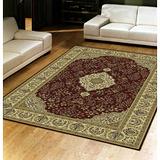 范登伯格-晶湛花容亮彩絲質感地毯-朱雀-140x190cm