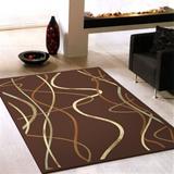 范登伯格-晶湛花容亮彩絲質感地毯-水舞160x230cm